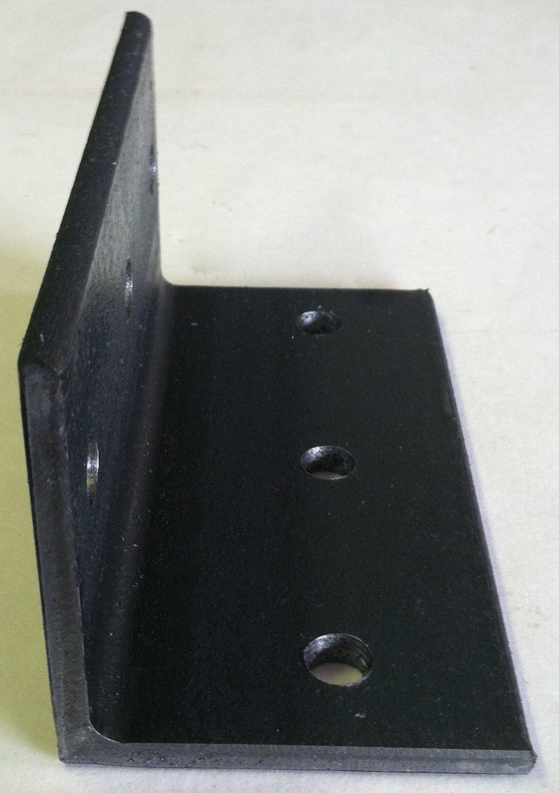 Angle Iron Timber Brackets