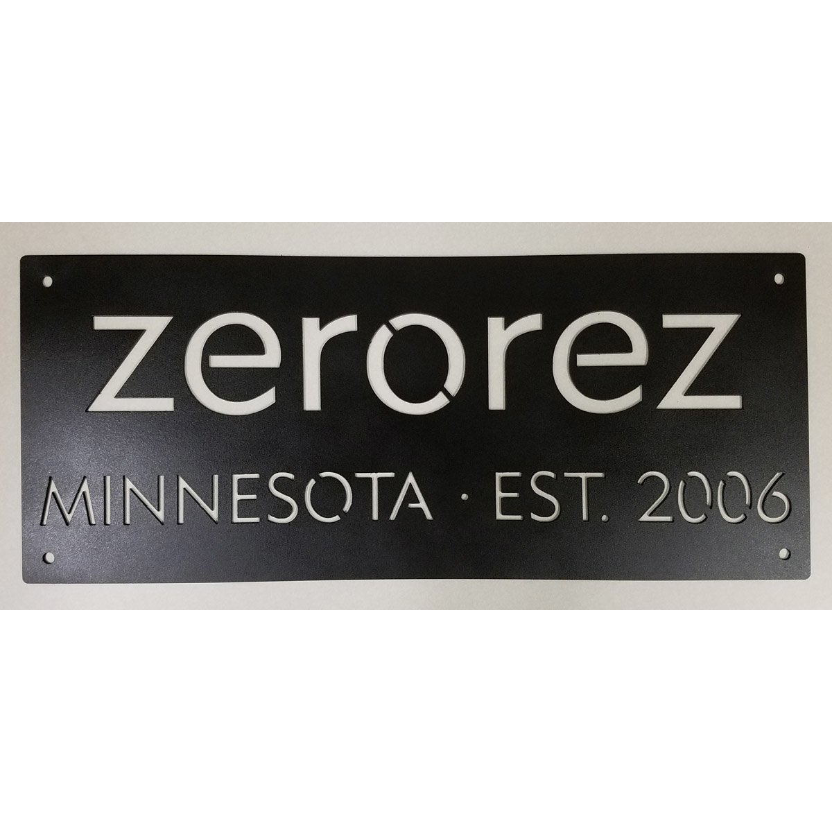 Custom Metal Signs and Cut Outs - Commercial