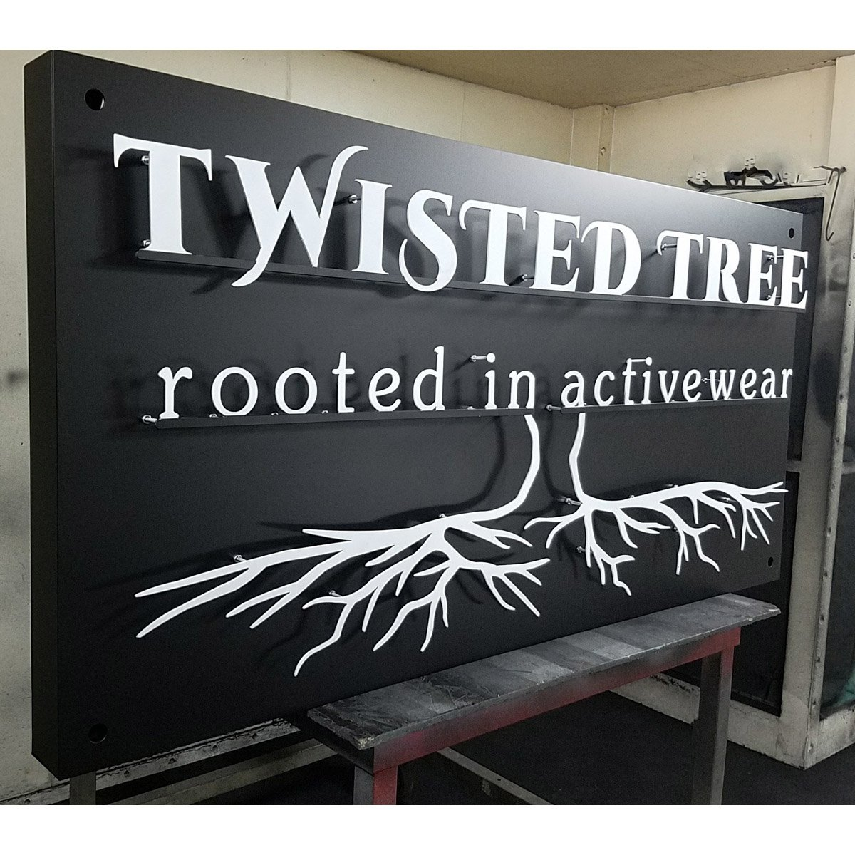 Metal Screen Signage : Custom signs and cut outs cutting edge metals inc