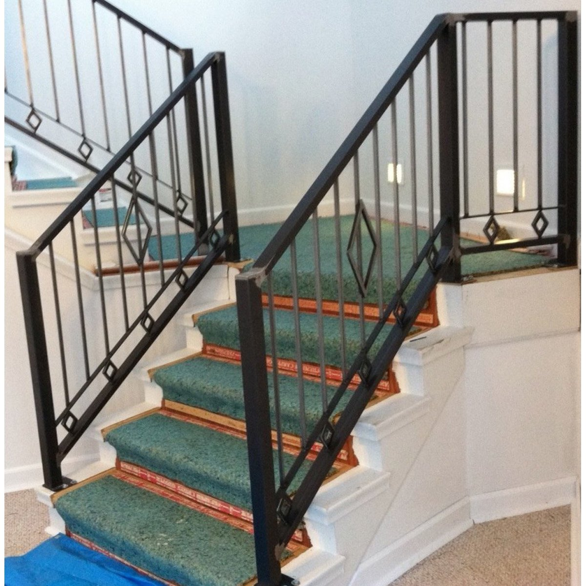 """Diamond Industrial Railing"""