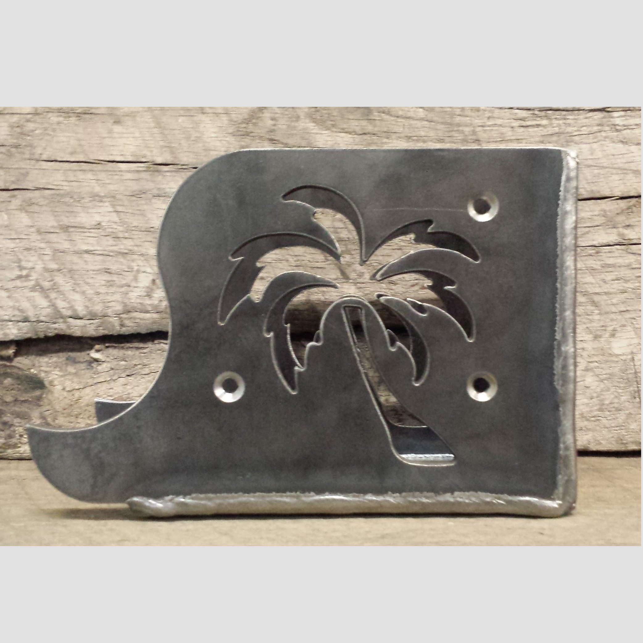 Decorative Joist Hangers - Ocean - Palm Tree Theme