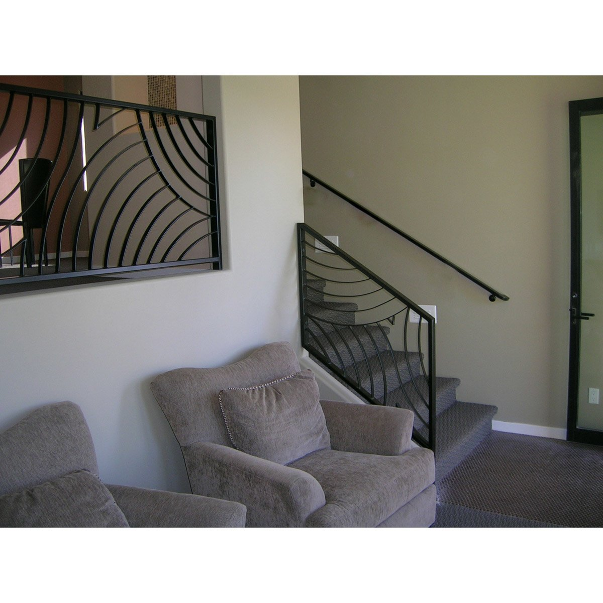 Custom decorative railing cutting edge metals inc for Custom decor inc