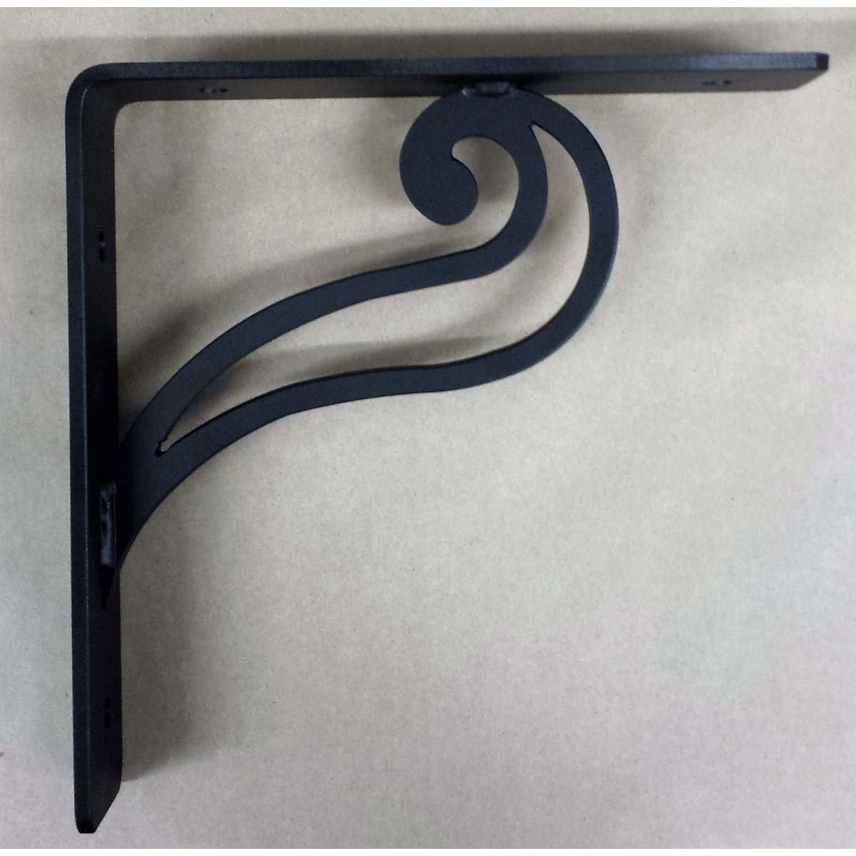 """L"" Angle Decorative ""Quail"" Gusset Steel Support Bracket"