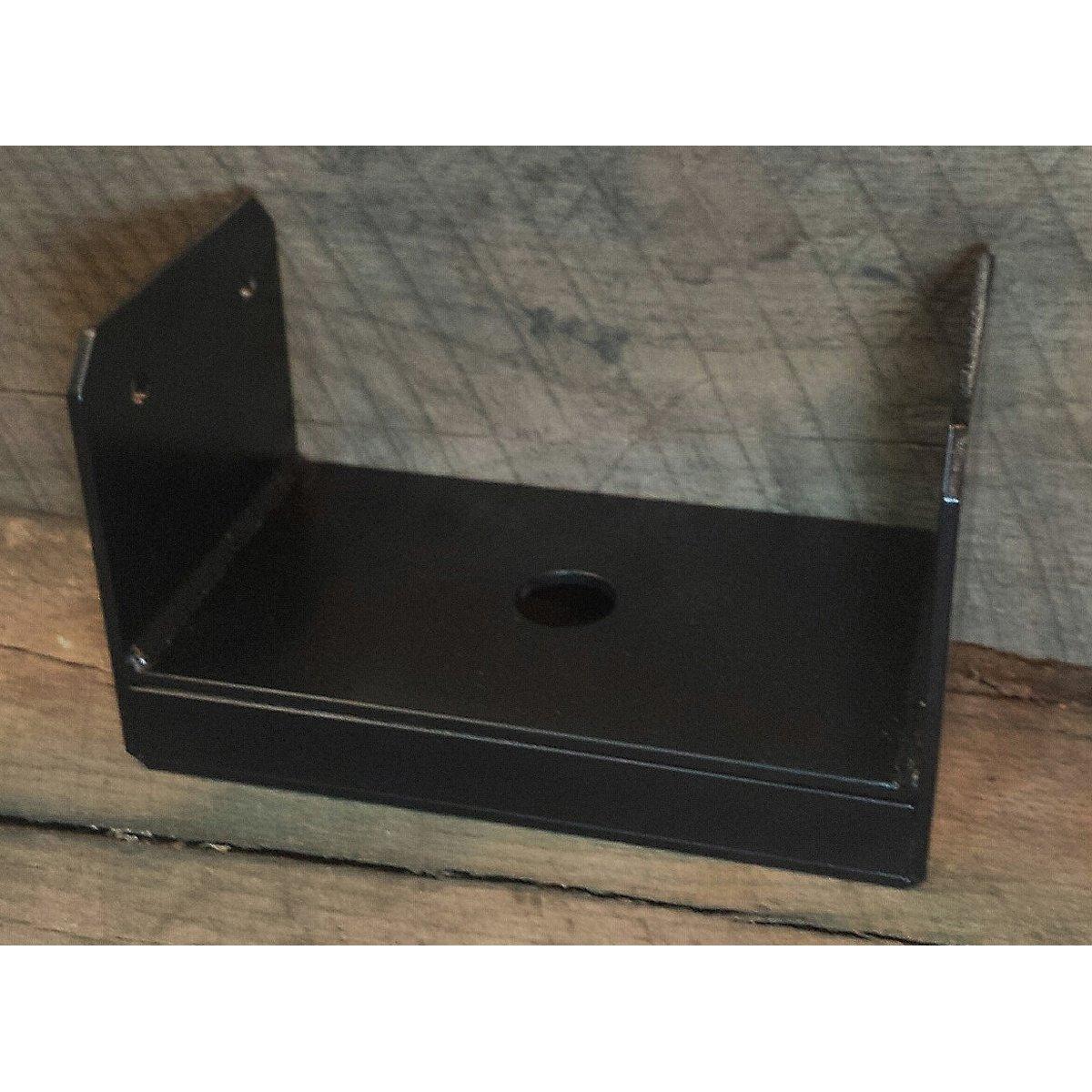 Uplift Post Base Brackets Painted Black