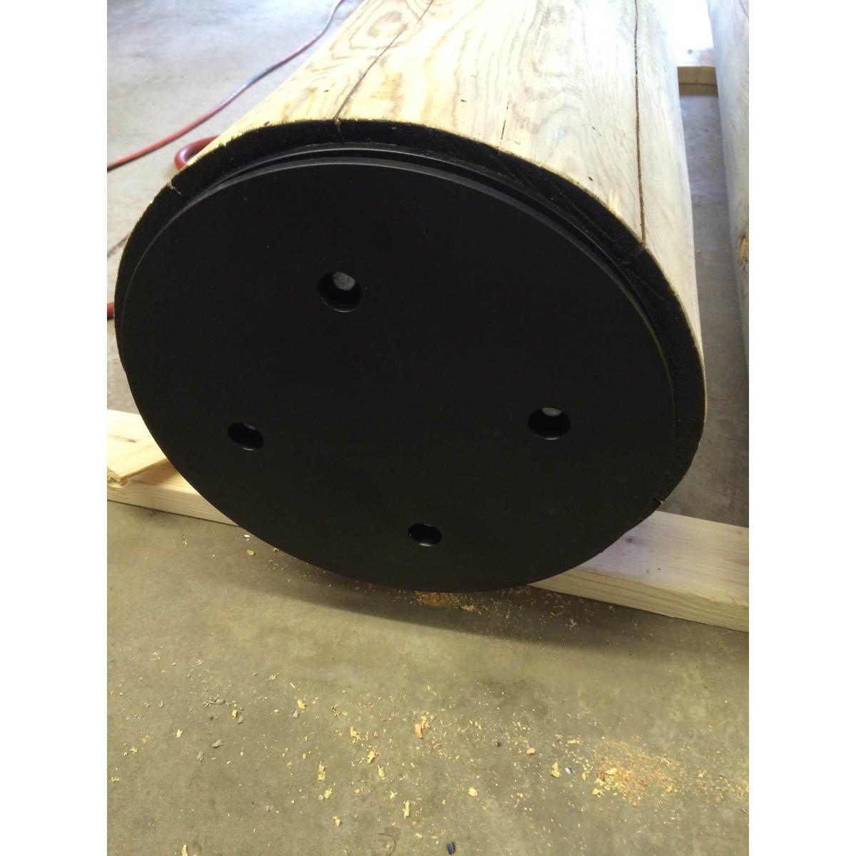 Round Uplift Post Brackets - (UPBR-14)
