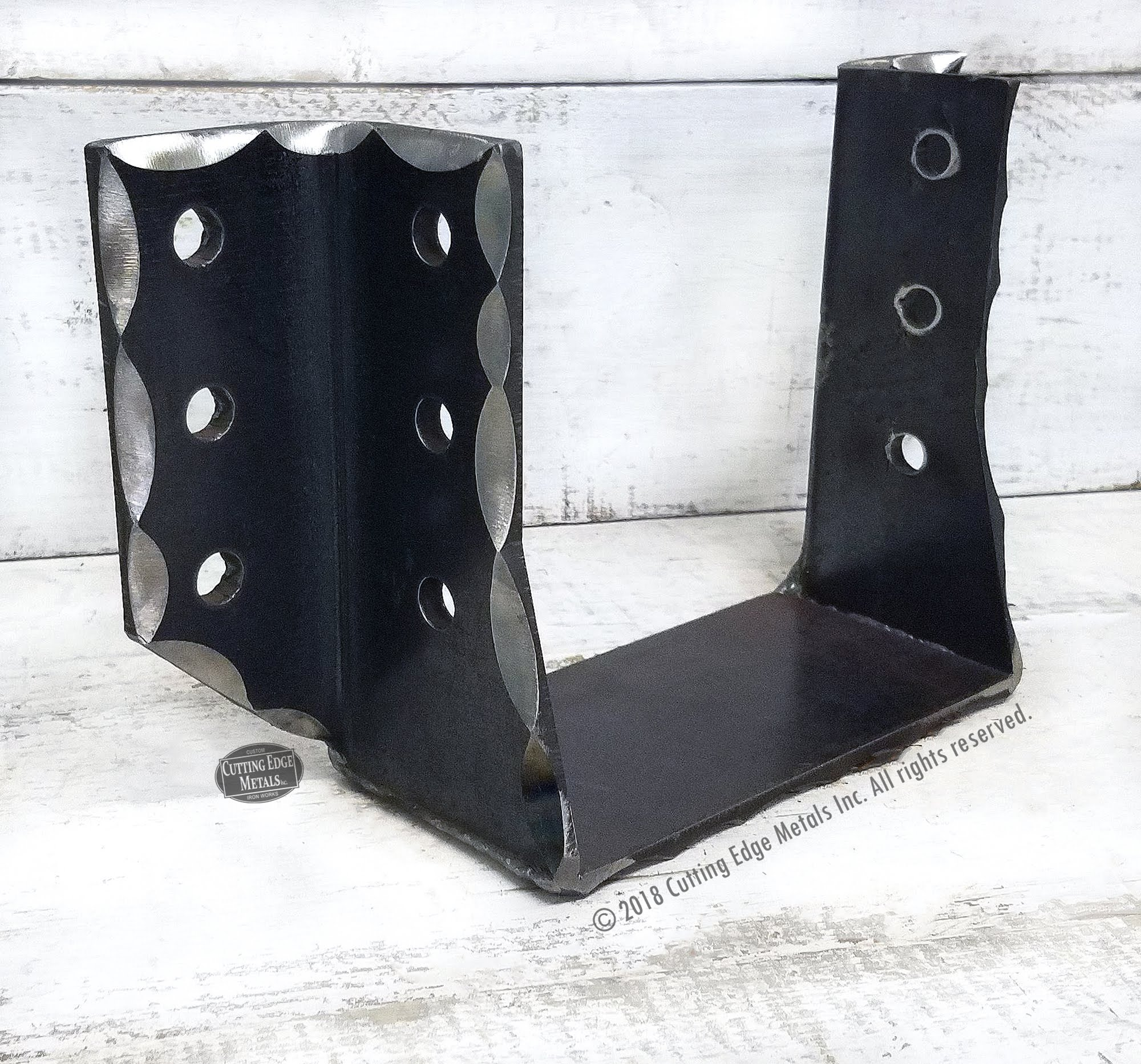 Custom Cropped Bottom Joist Hangers